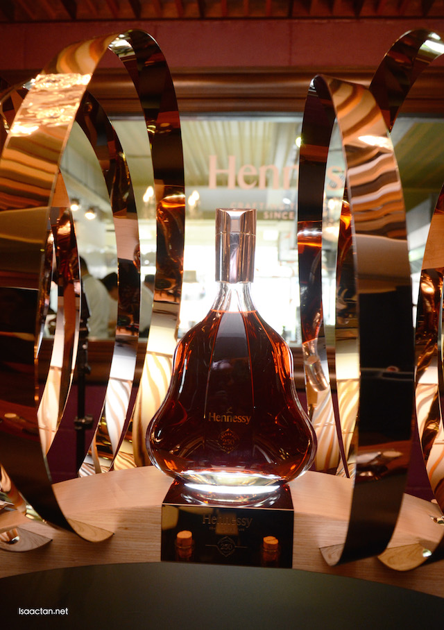Wish I could take this bottle of Hennessy 250 Collector Blend home