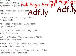 full page script
