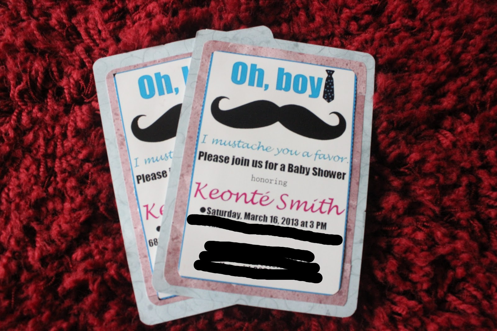 diy simple little man mustache baby shower save the date my baby shower is in two weeks after yesterday s scare at the hospital i hope even i will be able to attend send your prayers my way