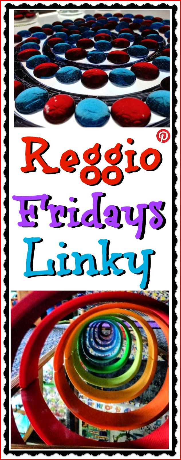 Link up with Reggio Fridays for Reggio inspired and light table ideas