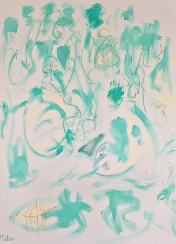 """The Greenery  36"""" by 48""""  $2,000,000"""