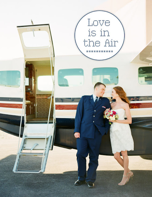 &quot;Up in the Air&quot; Themed Wedding