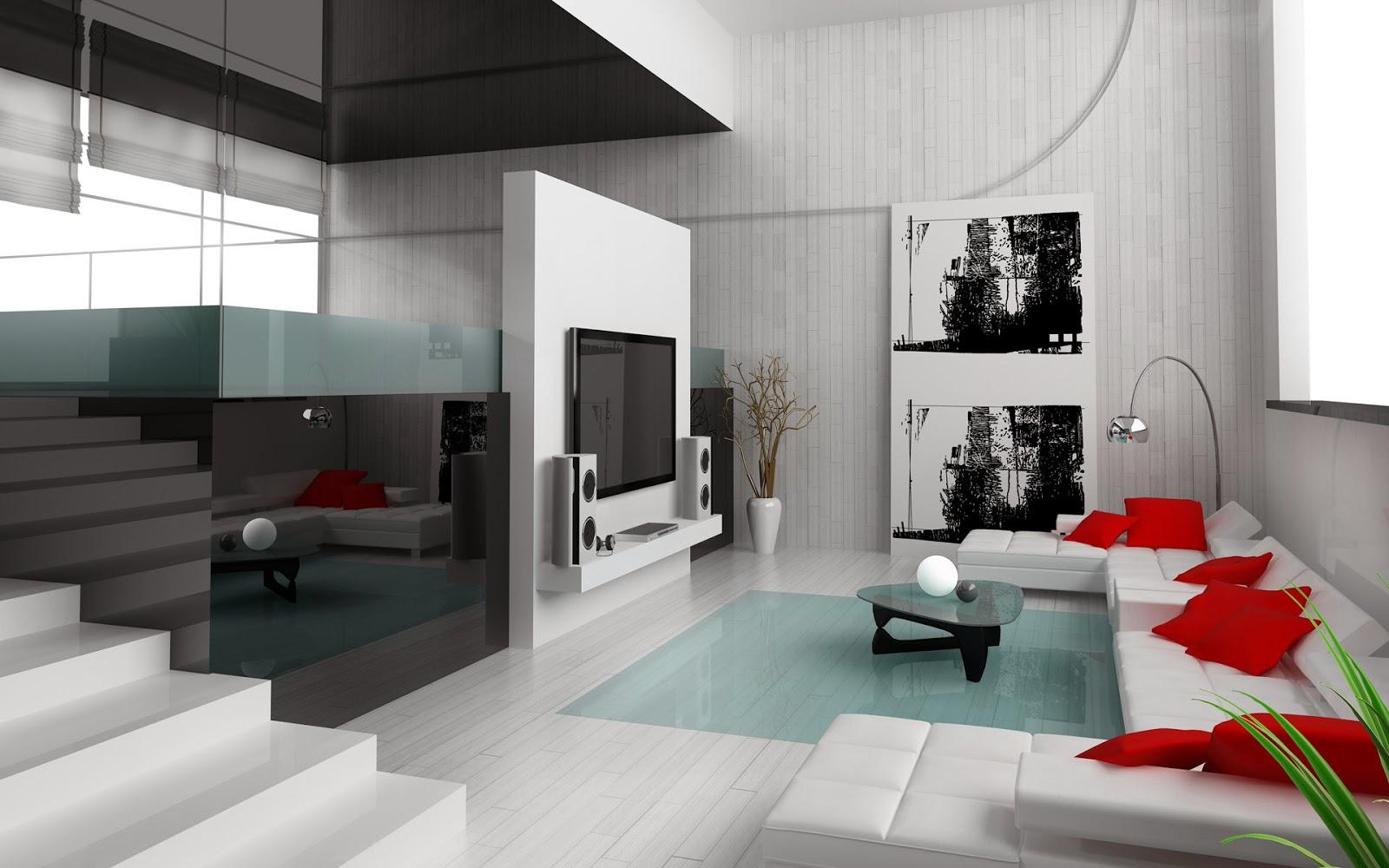 Wallpaper Desain Interior 2014 Ruang Keluarga 2