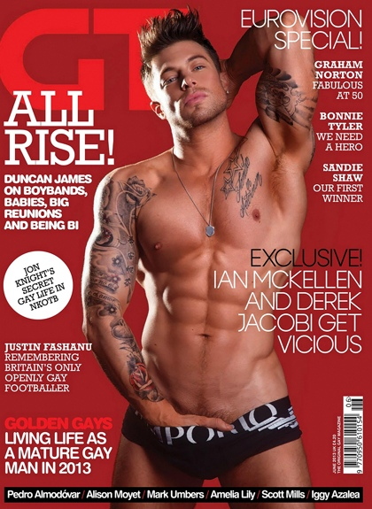 Duncan James GT Magazine June 2013