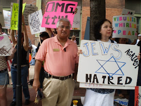 Interfaith Solidarity; standing up with Jews, GLBT and Immigrants
