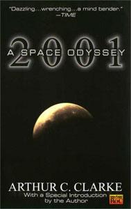 Portada de 2001: Una odisea del espacio, de Arthur C. Clarke