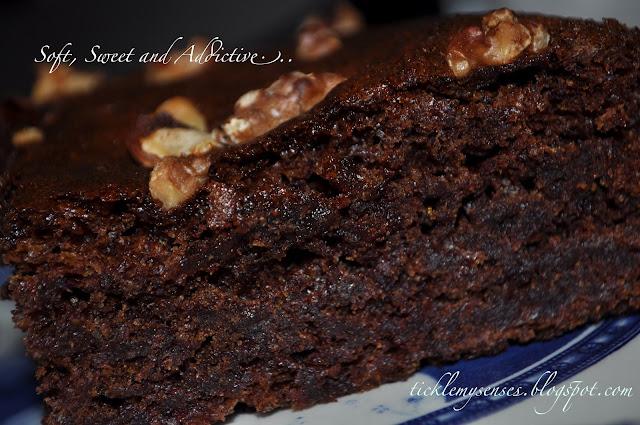 Date And Walnut Cake Joy Of Baking