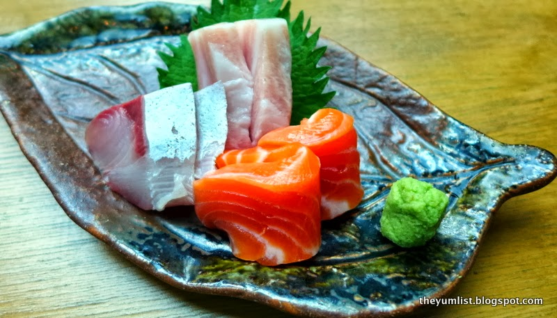 how to cut salmon belly sashimi