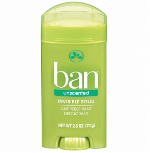 Ban, Ban Invisible Solid Deodorant Paradise Winds, deodorant