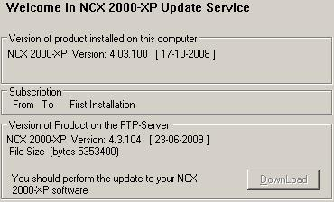 Download NCX-2000-XP 4.03.104