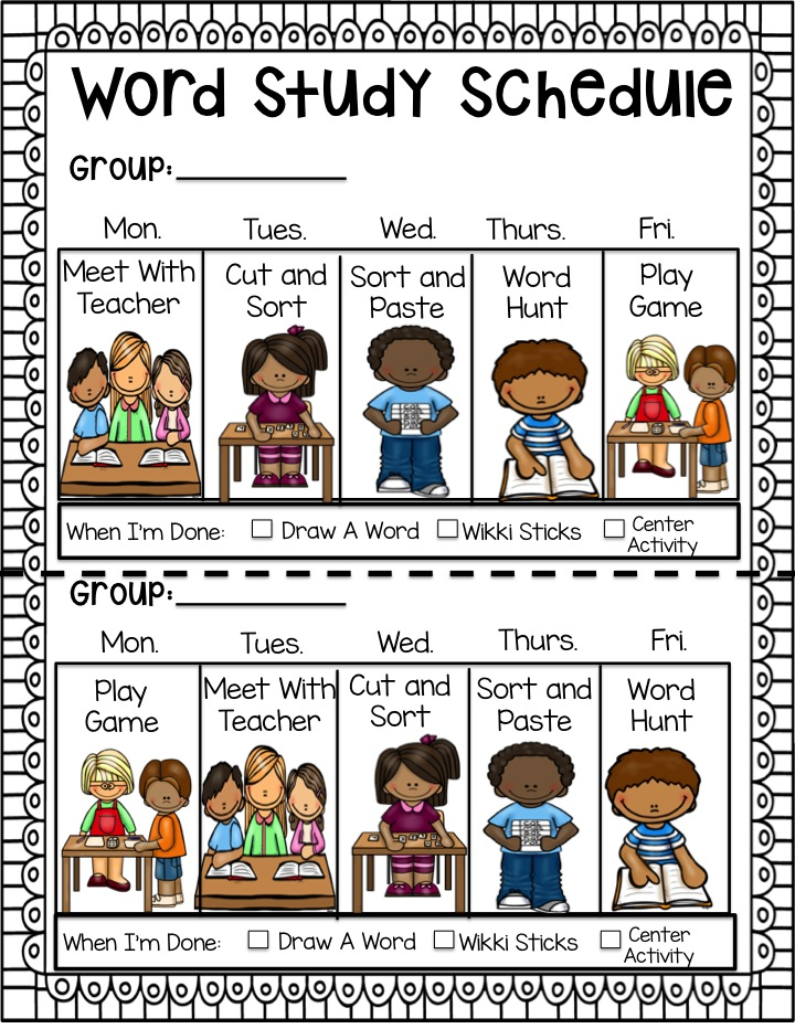 word study activities lessons tes teach