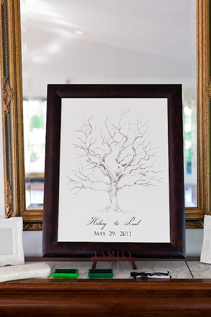 Procopio+Photography 0749 Our Wedding Day: Gift Table and Guestbook Fingerprint Tree