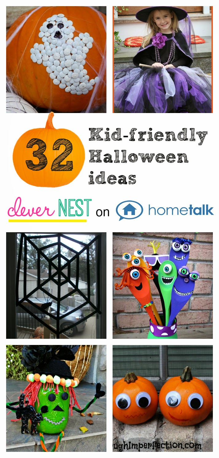 32 Kid friendly Halloween ideas, Clever Nest with Hometalk #toddler #roundup
