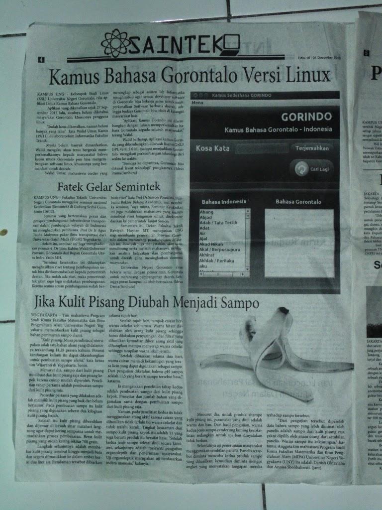 Jambura Online Universitas Negeri Gorontalo