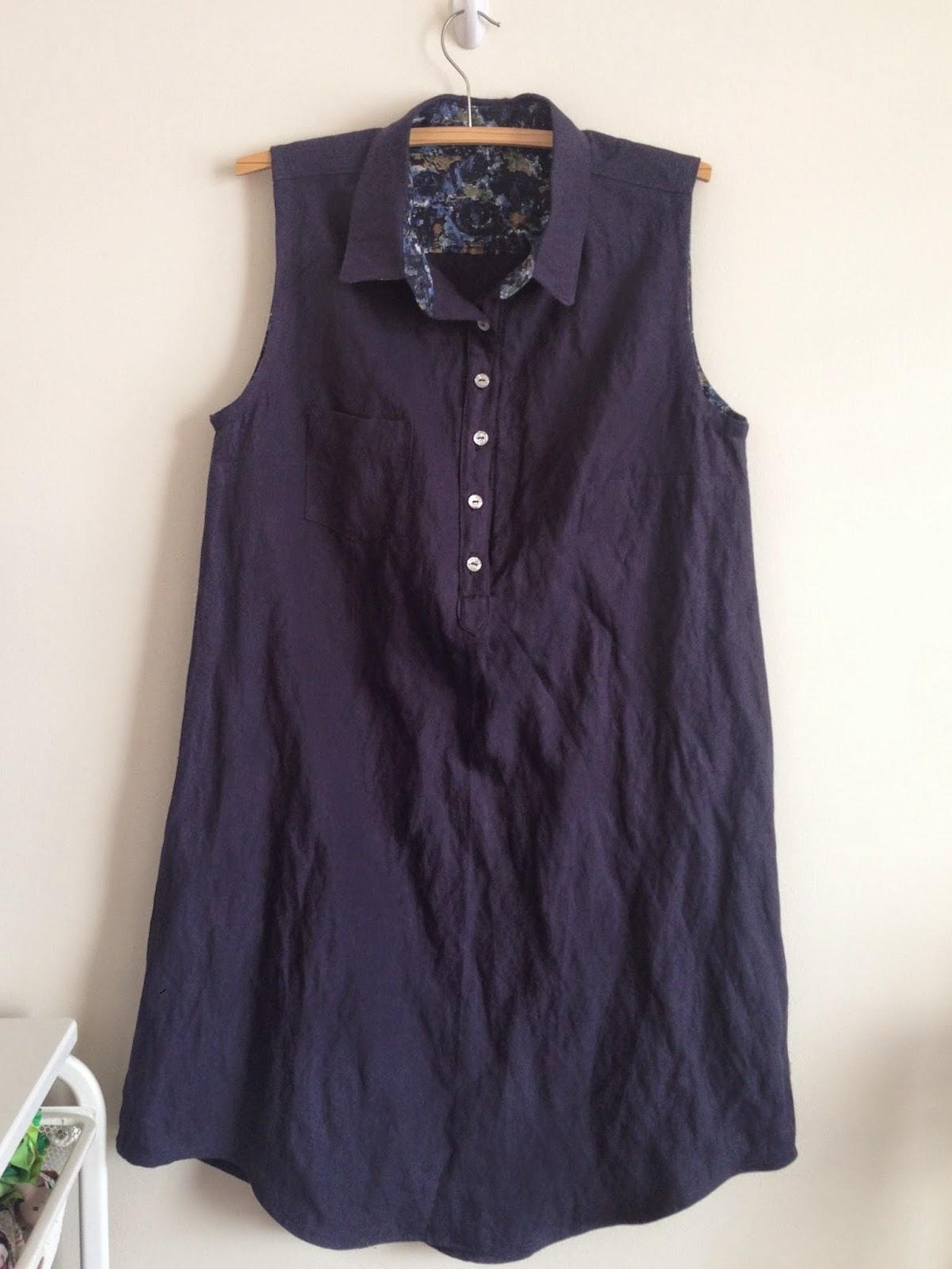 Alder Popover shirtdress