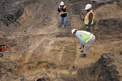 Eighteenth century graves found at Charleston construction site
