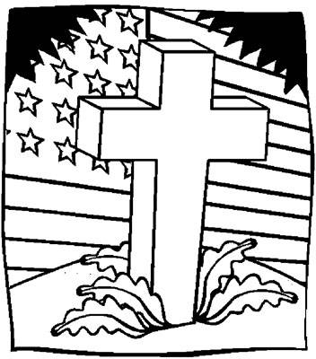 Veterans Day Coloring Pages For Kids Printable