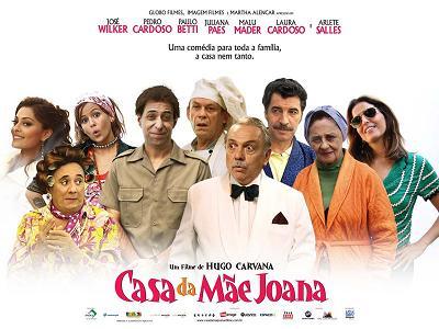 Casa da Mãe Joana - cartaz do filme