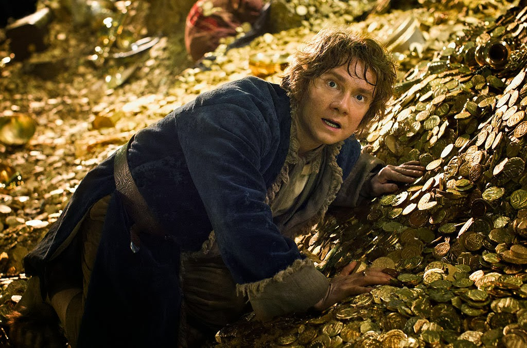 Bilbo Baggins The Hobbitt an Unexpected Journey 2013 movieloversreviews.blogspot.com
