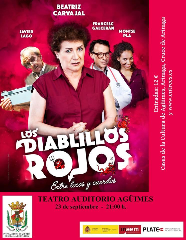 """""""Los diablillos rojos"""" en Agüimes"""