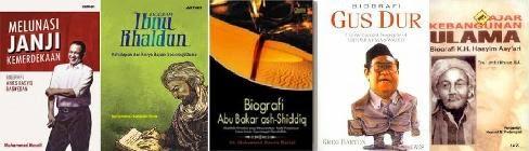 Contoh biografi dalam bentuk buku