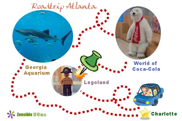 Zensible Mama: Travel Destination: Legoland Discovery Center Atlanta