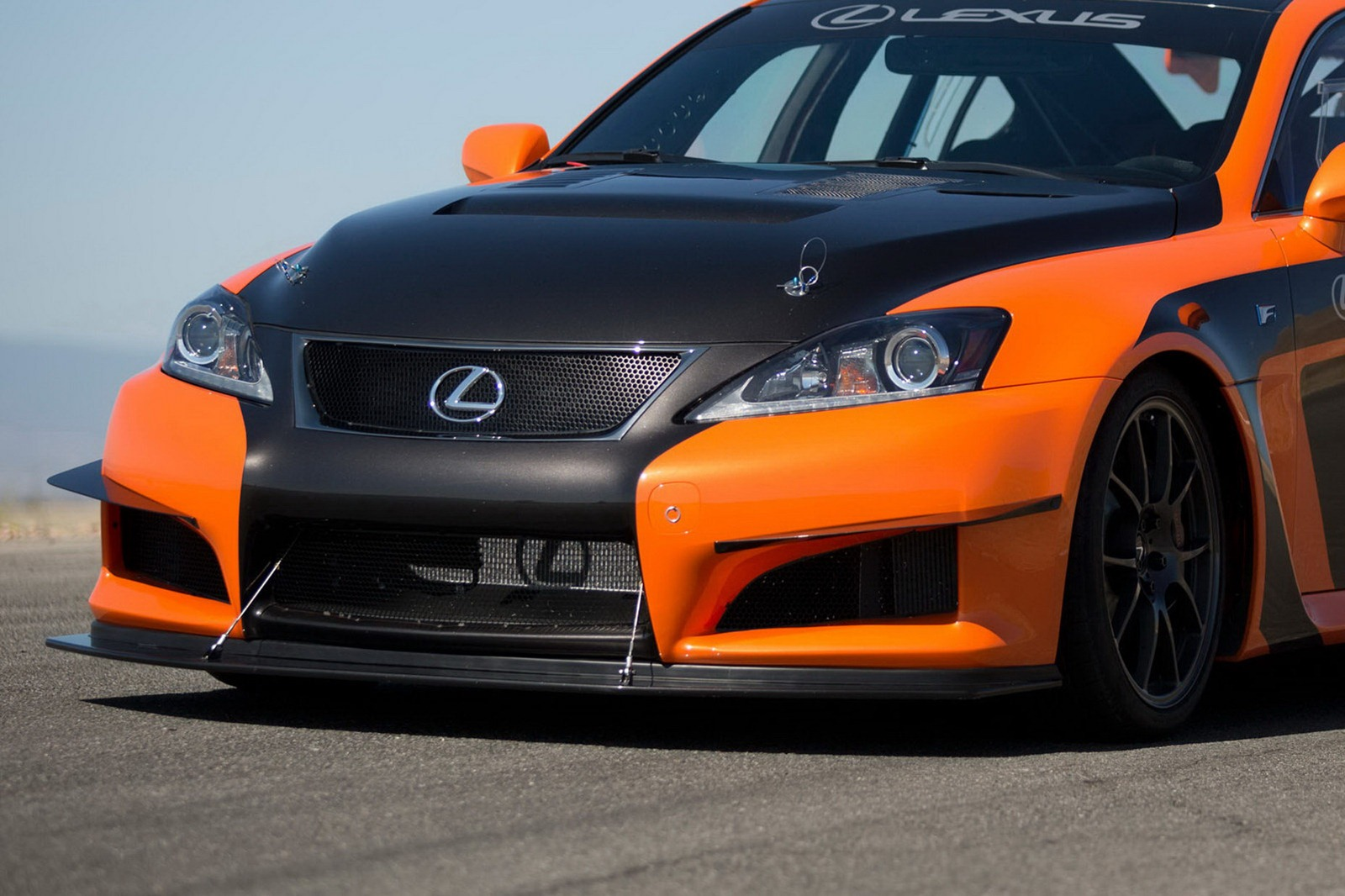 Lexus IS F CCS-R race