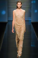 дълга рокля от дантела Alberta Ferretti