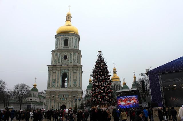 Главная ёлка Киева 2016