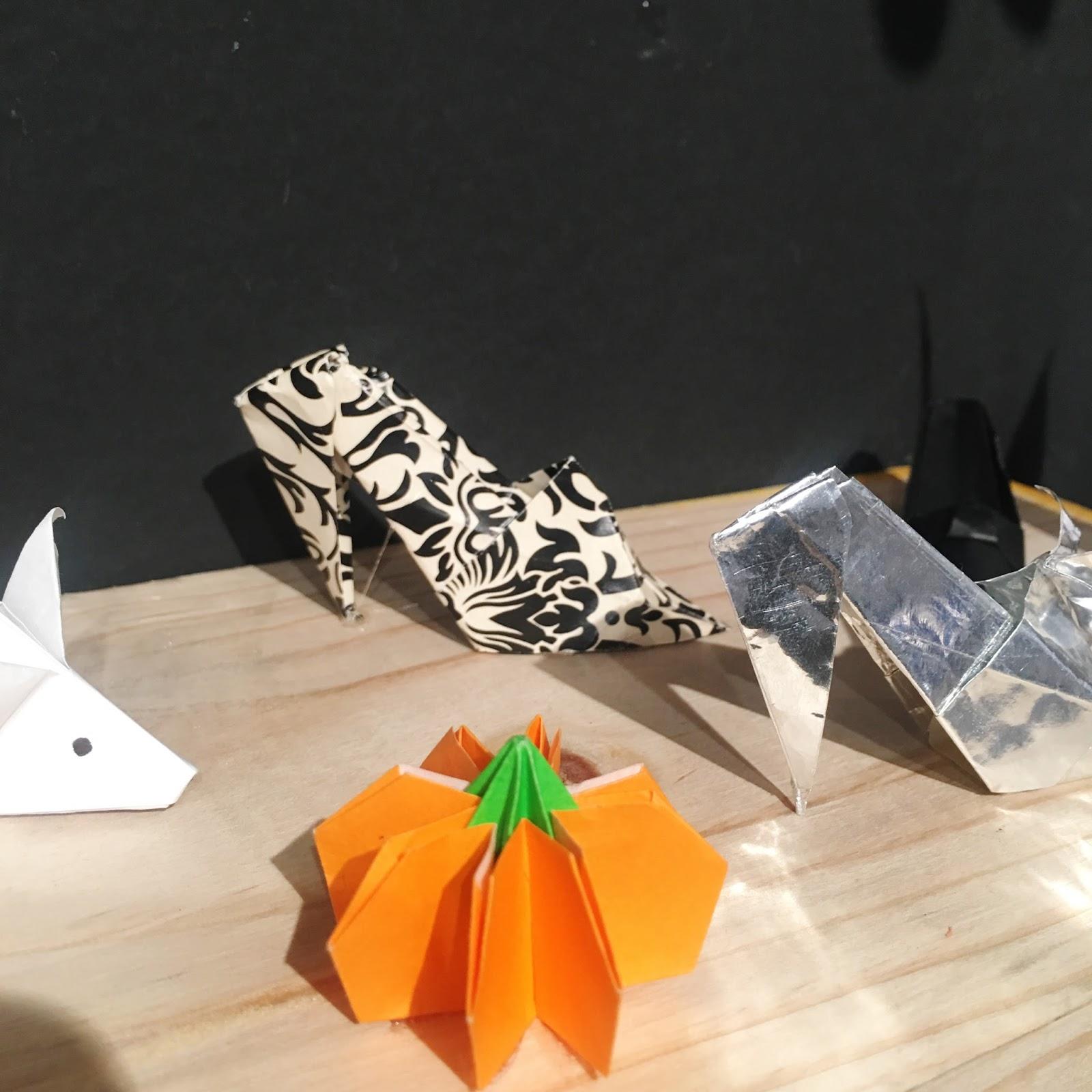 Origami Zapatos de Papel Ana Sofía Casaverde
