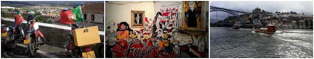 portugal bandera motos alentejo fado urban art lisboa douro Porto ponte barca