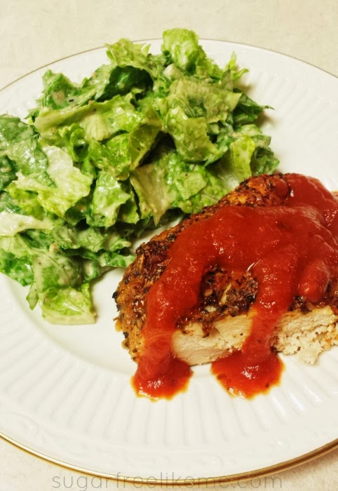 Low Carb Pizza Chicken