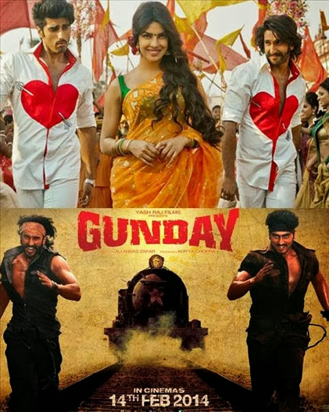 Gunday 2014 DVDScr 300mb Download Free