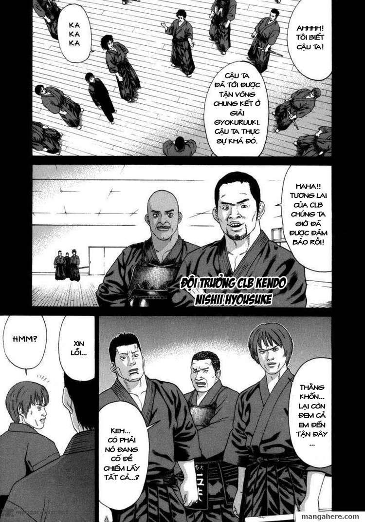 Karate Shoukoushi Kohinata Minoru chap 81 Trang 9
