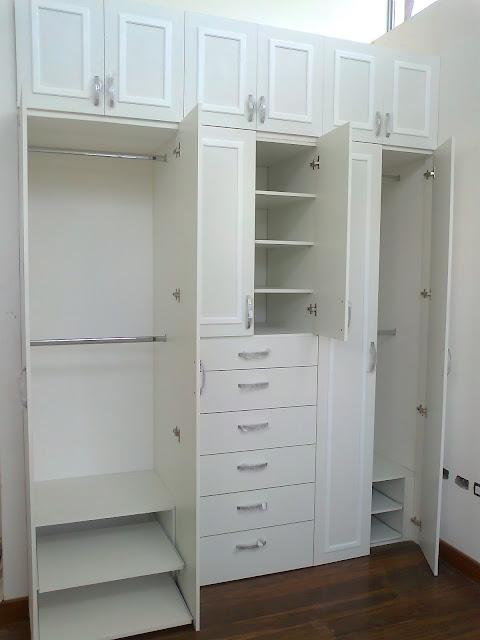 Muebles ecuador for Zapateras para closet