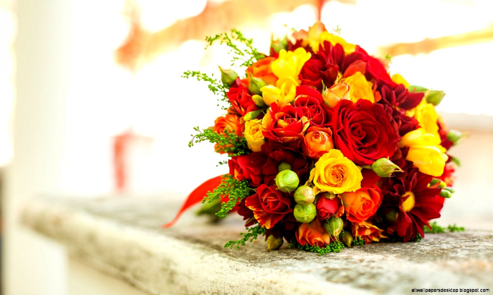 Flowers Roses Bouquet Hd Wallpaper All Wallpapers Desktop