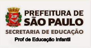 concurso para prefeitura de sp- educação infantil