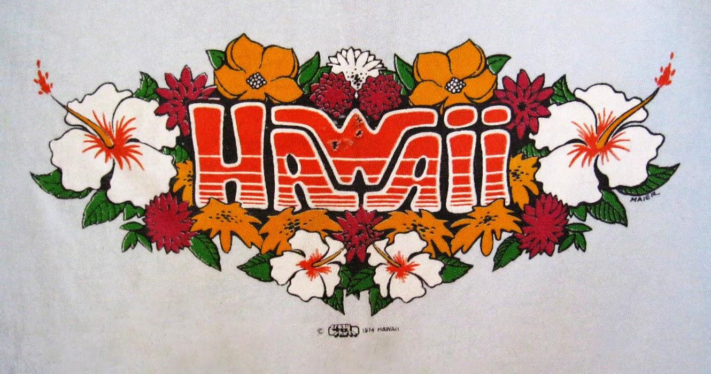 T shirt design hawaii - Beautiful 70 S Screen Printing By Crazy Shirts