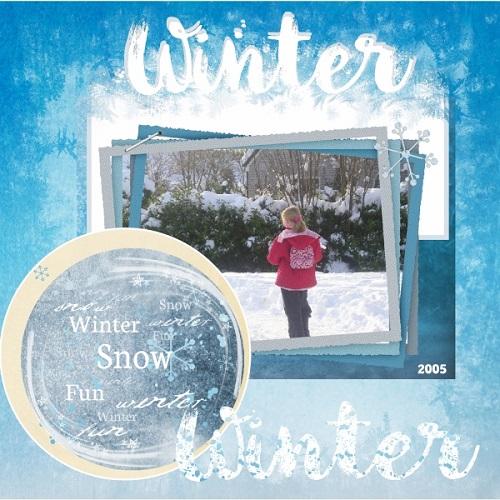 Jan.2019 - Nerissa in Winter 2005