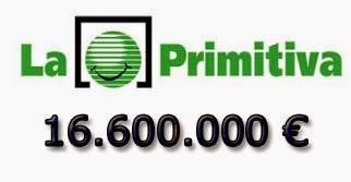 Sorteo de la Lotería Primitiva del jueves 26 de junio de 2014