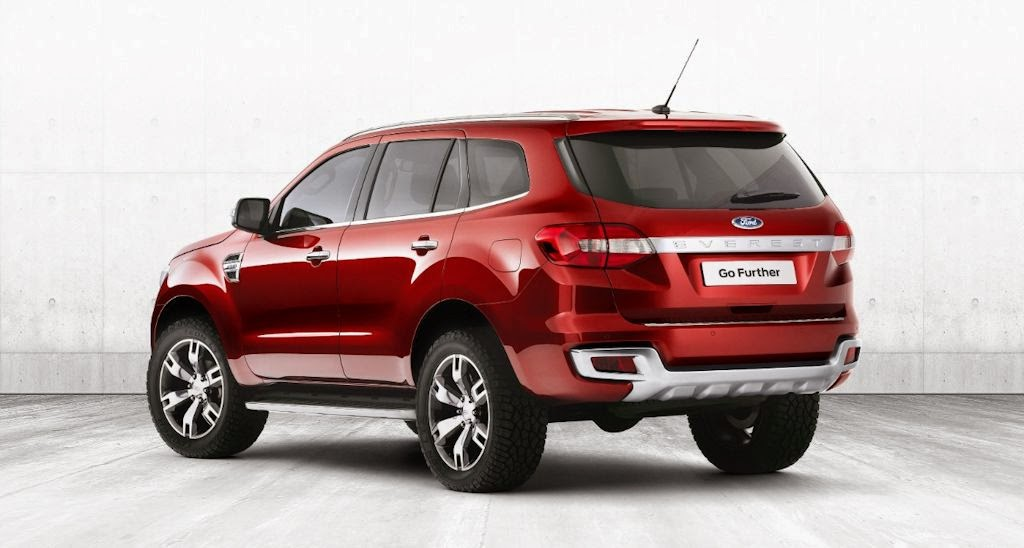the ford everest concept takes center stage at ford s sprawling
