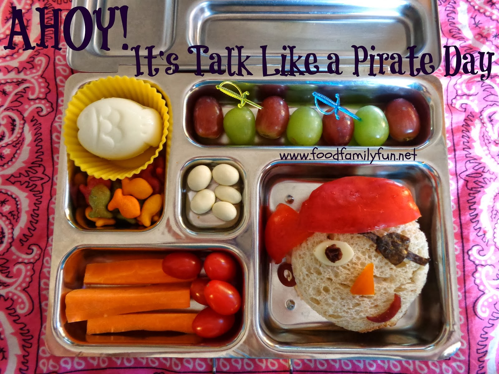 Image result for talk like a pirate themed lunch