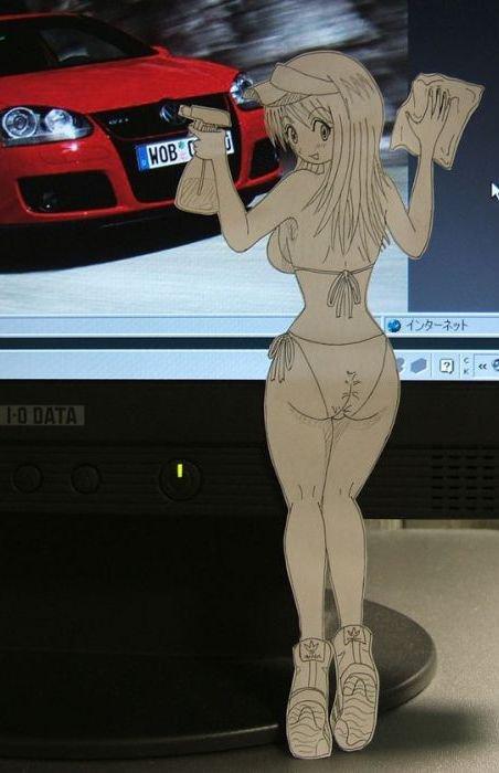 Figuras Anime en papel. 251788_10150264096509819_213182229818_7288130_1825588_n