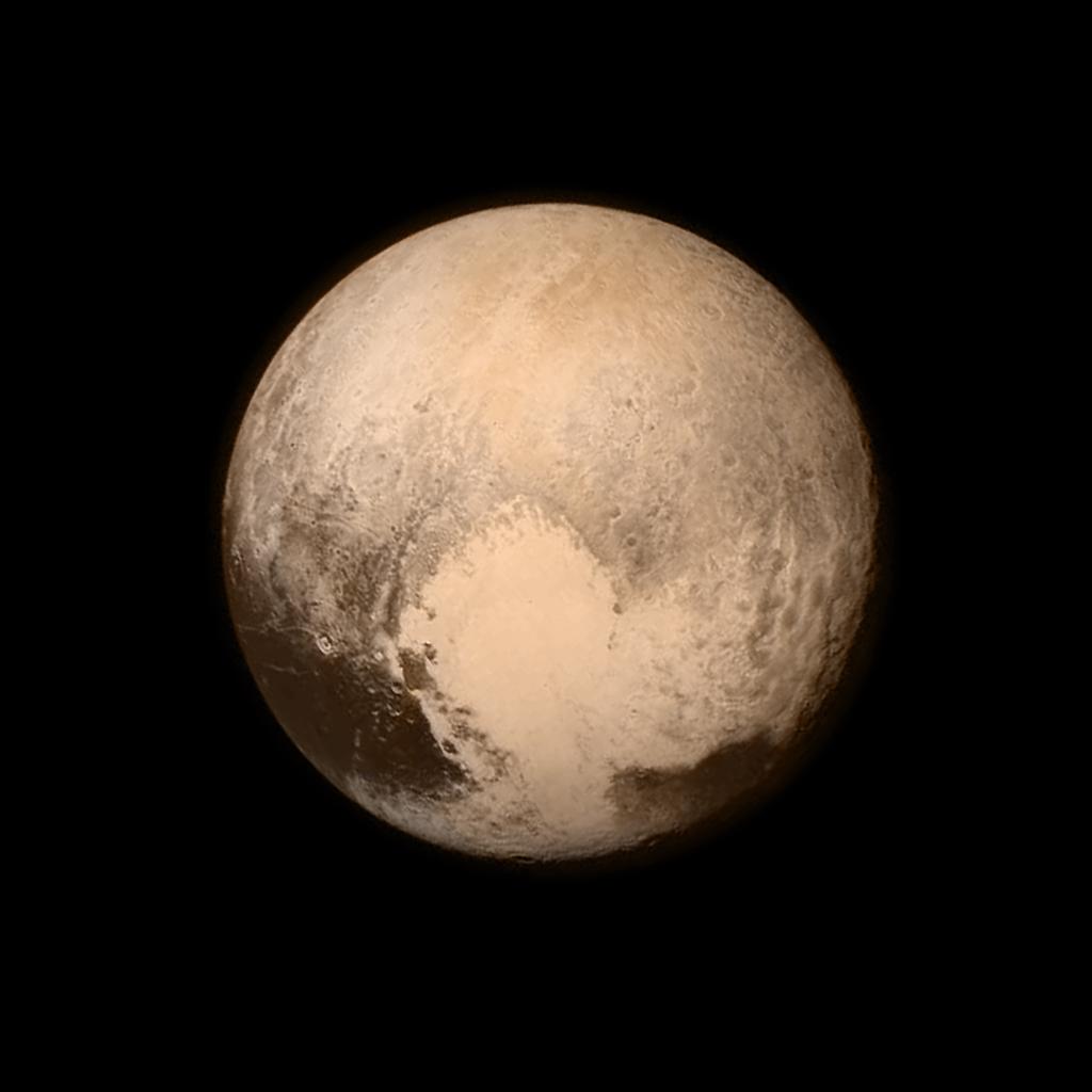 Última imagen de Plutón