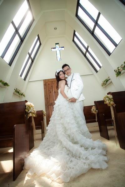 你知道這是什麼的結婚小教堂呢?