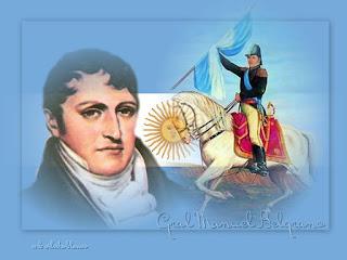 poema bandera argentina