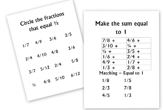 math fractions unit day 2 homeschool den. Black Bedroom Furniture Sets. Home Design Ideas
