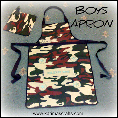 boys apron