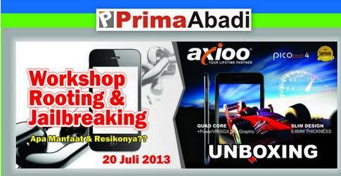 Workshop Rooting Android & Jailbreaking Iphone