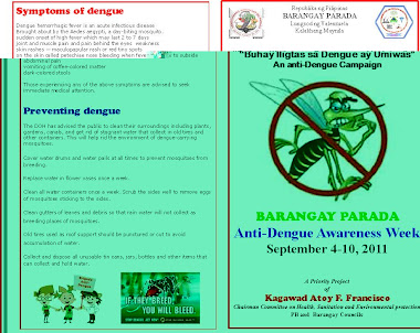 Anti Dengue Awareness Week